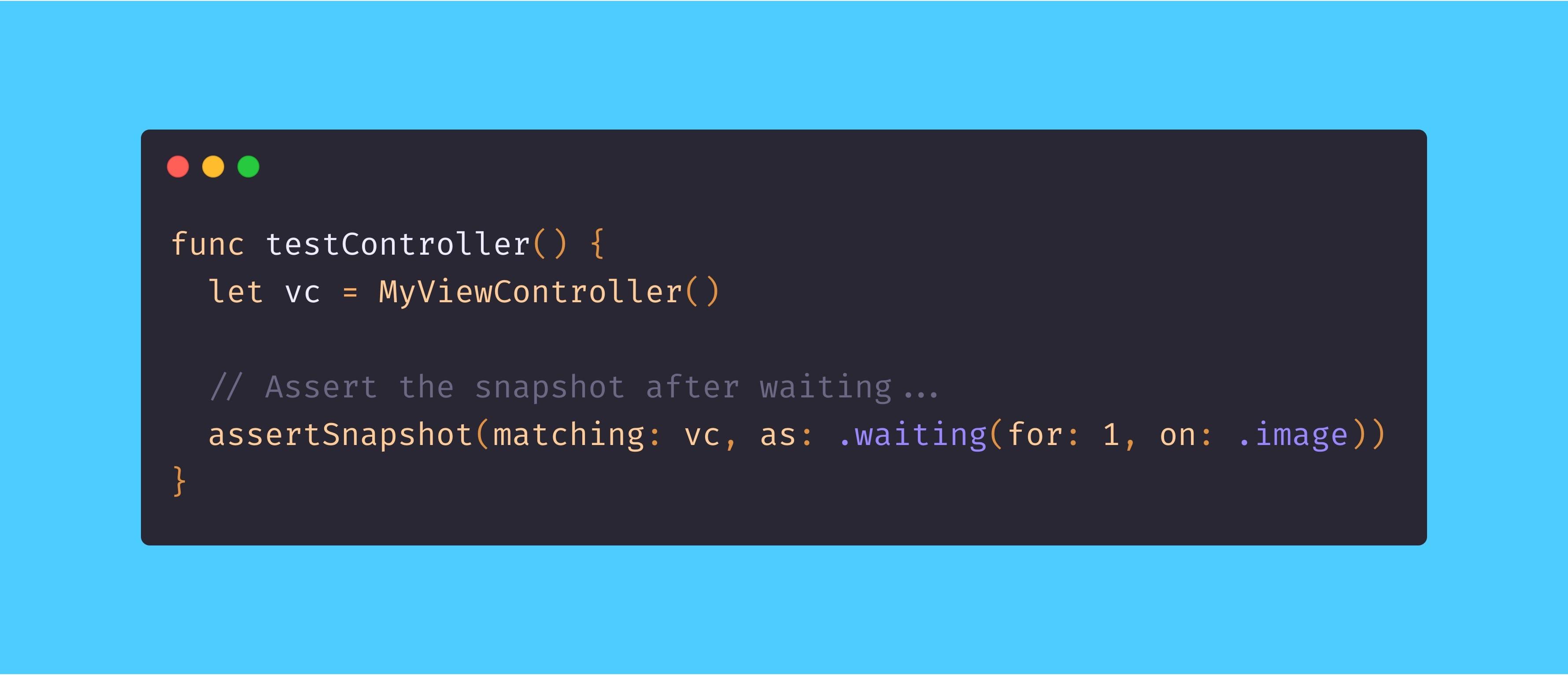 Higher-Order Snapshot Testing